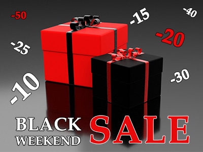 BLACK WEEKEND! Zgarnij rabaty do -40%